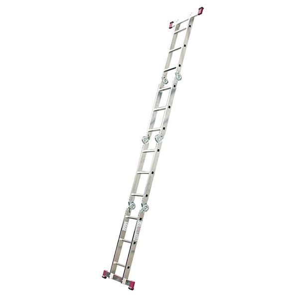 Лестница шарнирная (4x4) Alumet - 4.6 м.